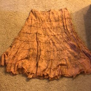 Size 2X Skirt it's cute!